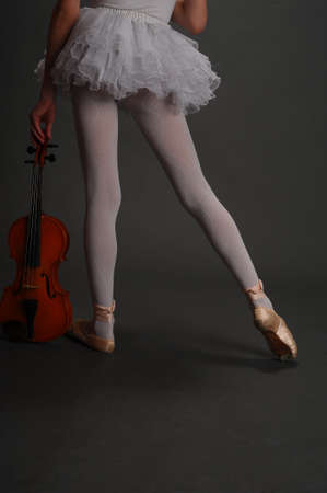 solo form: Ballerina Girl with violin
