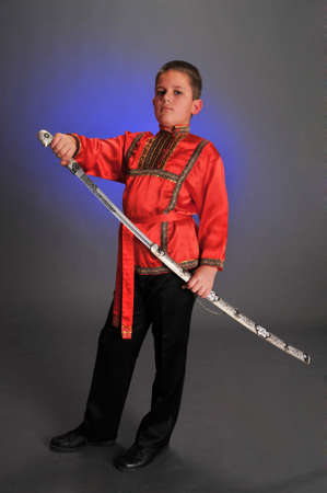 young Cossack photo