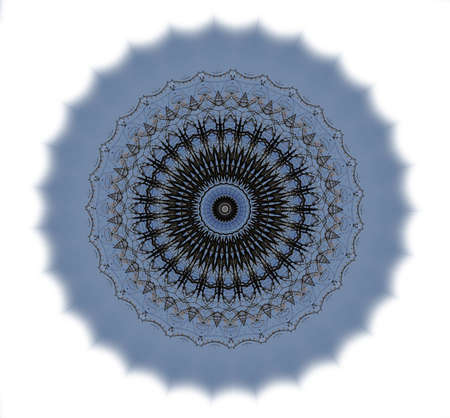 wholistic: Kaleidoscope of abstract images, illustrations, can be used as a background