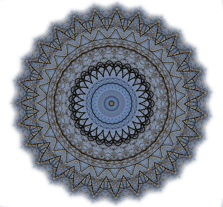 Kaleidoscope of abstract images, illustrations, can be used as a background