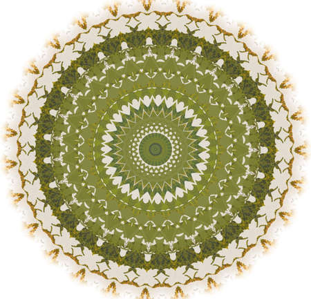 Kaleidoscope of abstract images, illustrations, can be used as a background Stock Illustration - 9422112