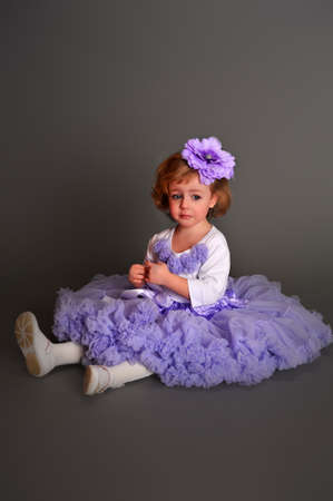 Child wearing pettiskirt photo