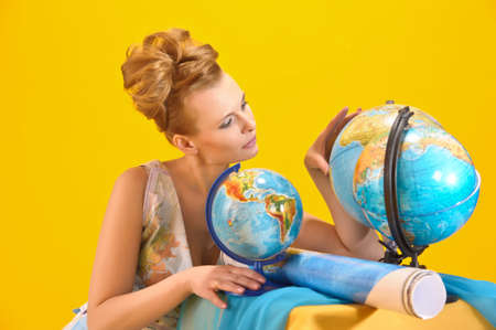 World girl Stock Photo - 10080097
