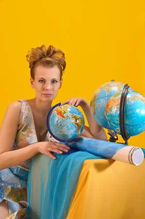 cram: World girl Stock Photo