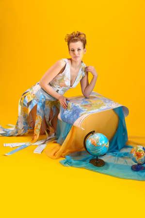 World girl photo