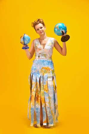 World girl Stock Photo - 10080081