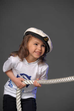Little sailor Stock Photo - 10076562