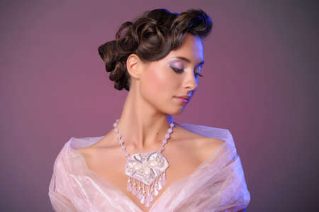 womanliness: wedding hairstyle