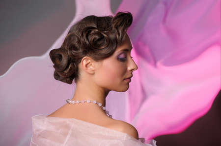 year profile: wedding hairstyle