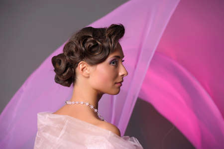 wedding hairstyle Stock Photo - 9669629