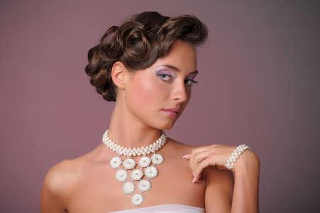 wedding hairstyle Stock Photo - 9669624