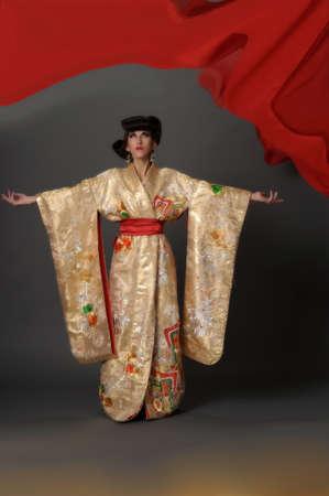 vestidos de epoca: geisha