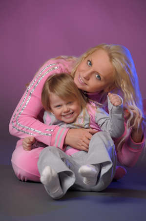 Mother and daughter Stock Photo - 10908844