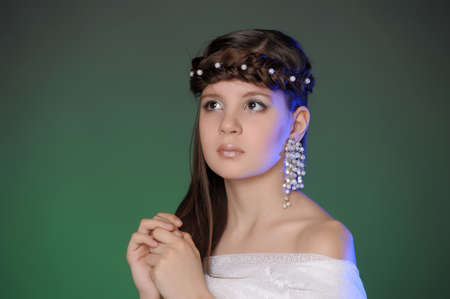 portrait of a young Princess Stock Photo - 10577925