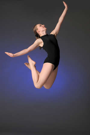 Gymnast jumping Stock Photo - 10448148