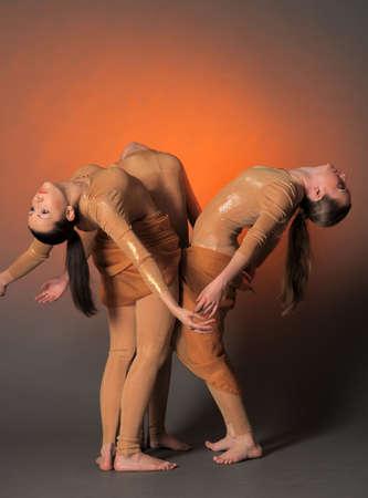 three dancers photo