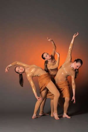 three dancers photo