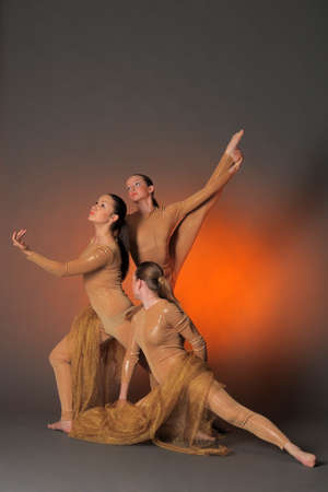 lovely woman: three dancers