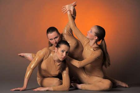 three dancers Stock Photo - 10448200