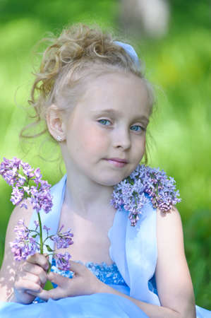 latvia girls: girl with lilac