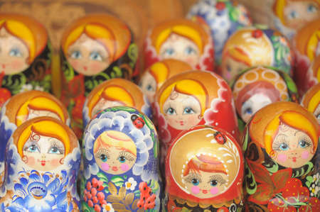 Russian dolls Stock Photo - 10078946