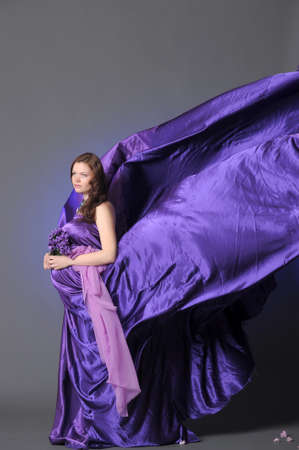 Pregnant woman photo