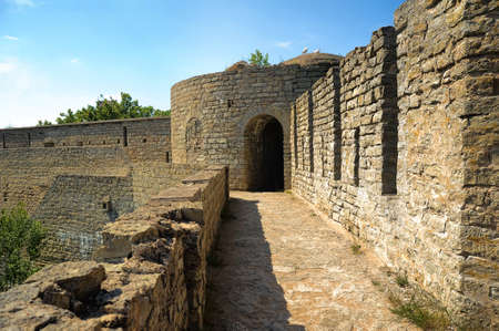 Travel in Russia. Fortress of Ivangorod Stock Photo - 10142931