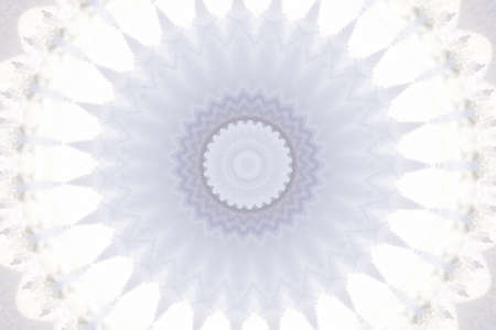 white circular pattern photo