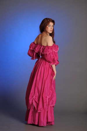 vestidos de epoca: MUJER HERMOSA VICTORIANA