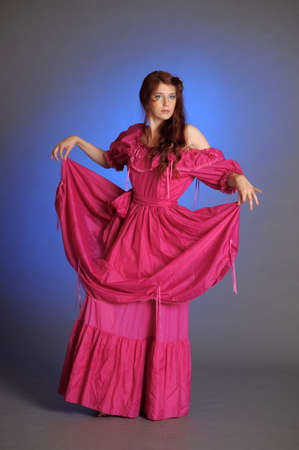 VICTORIAN BEAUTIFUL WOMAN Stock Photo - 10578405