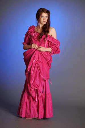 VICTORIAN BEAUTIFUL WOMAN Stock Photo - 10578404