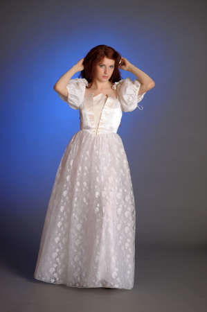 girl in retro dress Stock Photo - 12205113
