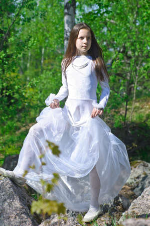 Princess in the Park Stock Photo - 10324629