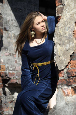Medieval woman photo