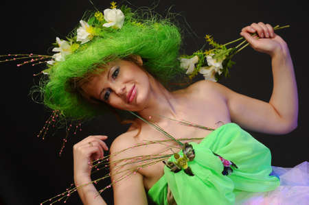 curlym: Spring girl