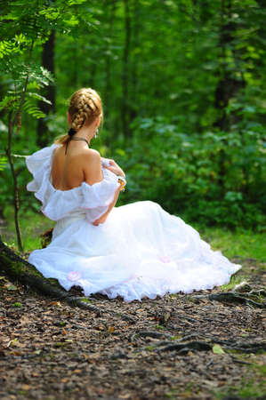princess in the forest photo
