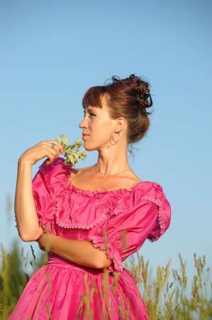 Victorian style woman  photo