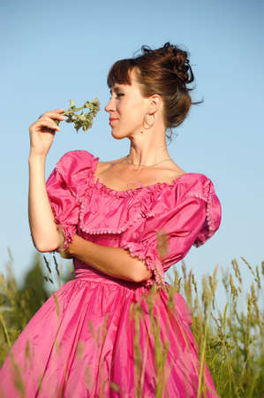 Victorian style woman Stock Photo - 11190247