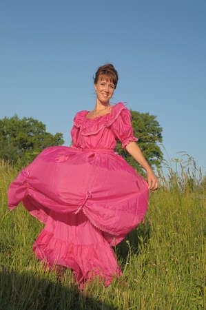 Victorian style woman Stock Photo - 11190251