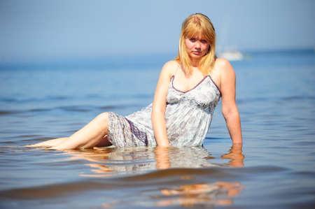 The water girl Stock Photo - 13206341