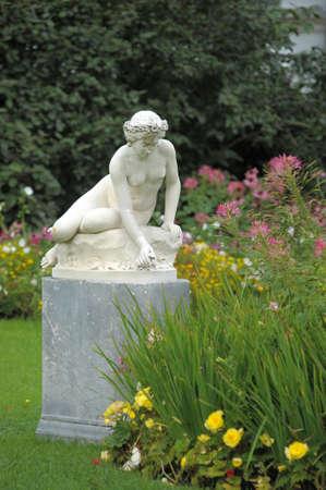 Statue of a beautiful woman Stock Photo - 10564291