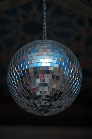 disco ball photo