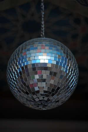 flashy: disco ball Stock Photo
