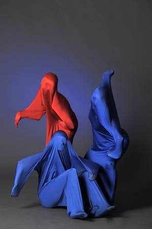 three abstract human figures Stock Photo - 13292609