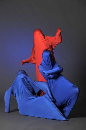 three abstract human figures Stock Photo - 13292738