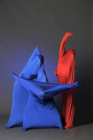 three abstract human figures Stock Photo - 13292735