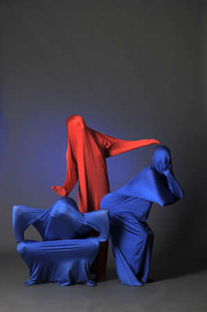 three abstract human figures Stock Photo - 13292667
