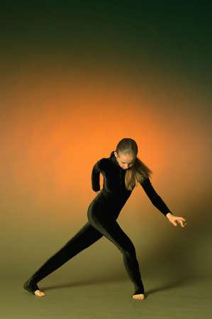 Beautiful flexible gymnast Stock Photo - 10728226