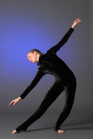 Beautiful flexible gymnast Stock Photo - 10728229