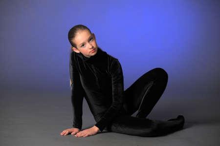 Beautiful flexible gymnast Stock Photo - 10728249